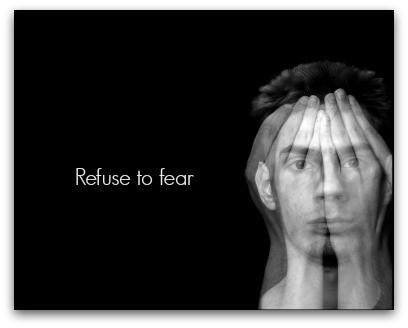 Refuse To Fear blog article by Karan Scott of Karan Scott Coaching | Northants 01536 601749