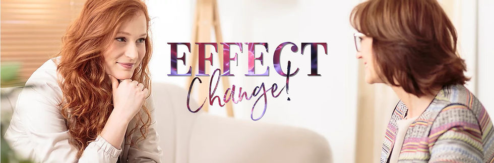 How We Can Begin To Effect The Change you Need