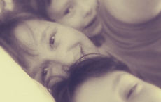 Karan & the kids circa 2013