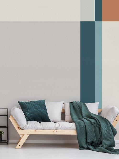 Painel de Parede Quadrante Areia