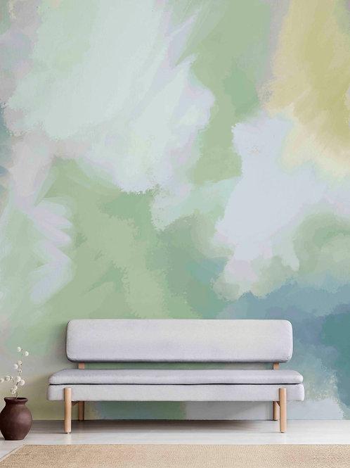 Painel de parede Verde