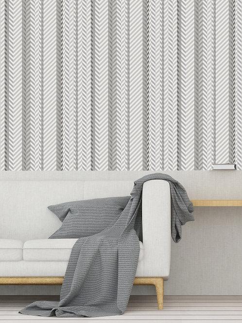 Papel de Parede Carpet Cinza