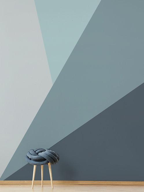 Painel de Parede Azul