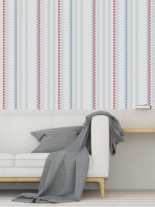 Papel de Parede Carpet Azul