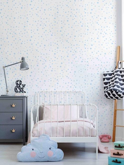 Papel de parede azul claro