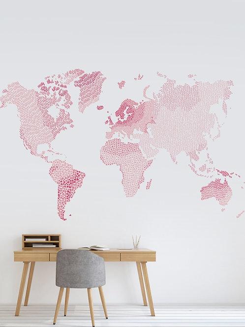 Mapa mundi Rosa