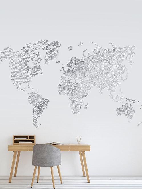 Painel de parede Mundo