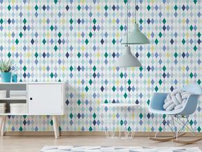 Papel de parede x Adesivo de parede: Entenda as diferenças