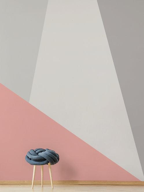 Painel de Parede Rosa A