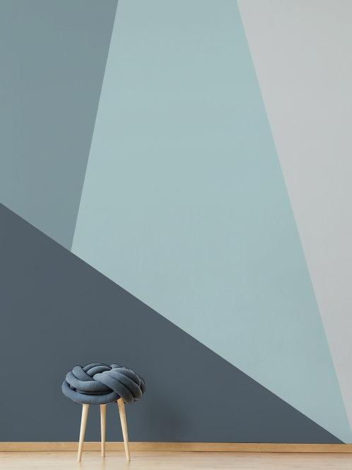 Painel de Parede Azul A
