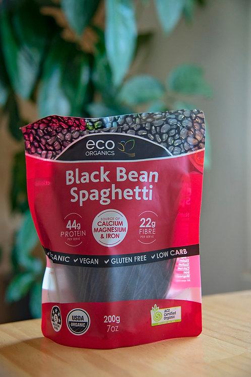 Pasta, black bean