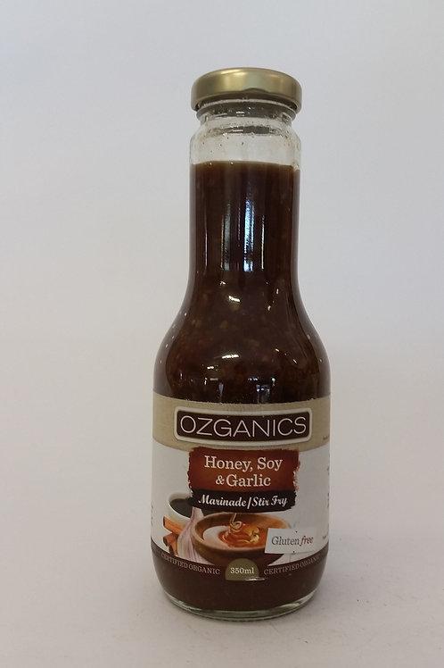 Honey, soy & garlic marinade 350ml