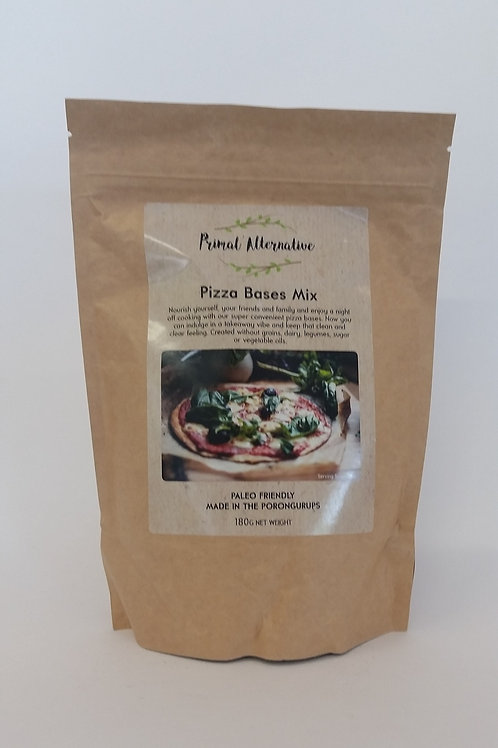Pizza base mix