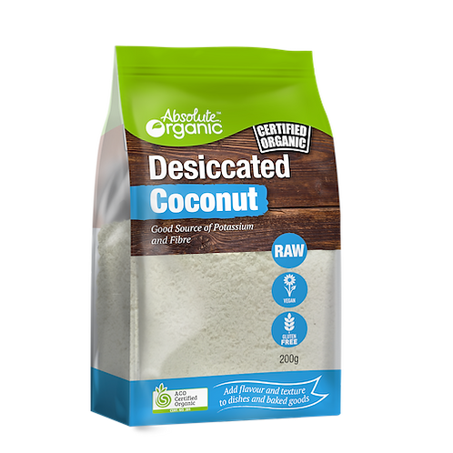 Coconut, desiccated 200g