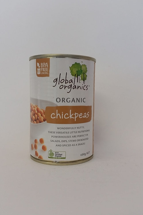Chickpeas tinned 400g