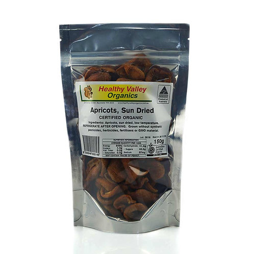 Apricots, dried 150g