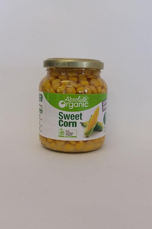Sweet corn, jar 350g