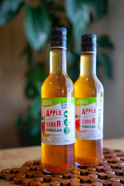 Vinegar, apple cider 500ml