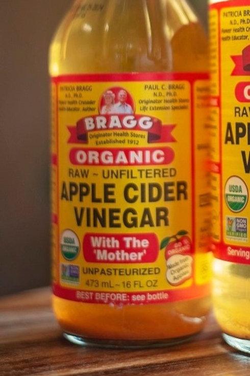 Vinegar, apple cider 473ml