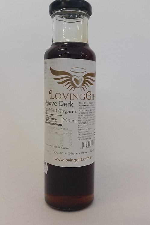 Agave syrup, dark