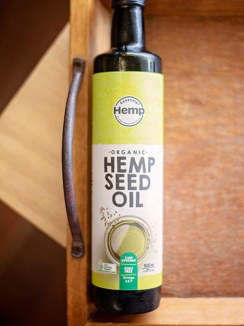 Oil, hemp seed 500ml