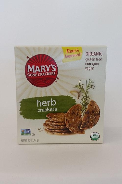 Crackers, herb