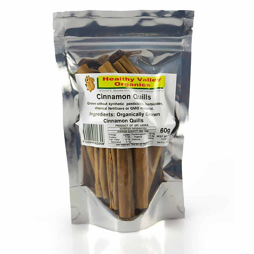 Cinnamon quills 60g