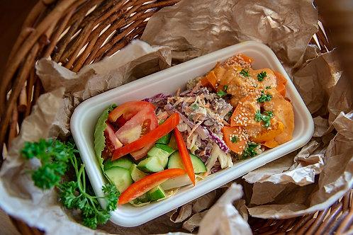 Salad, mixed (box)