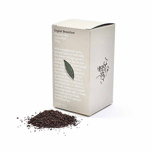 Tea, English Breakfast loose leaf 100g