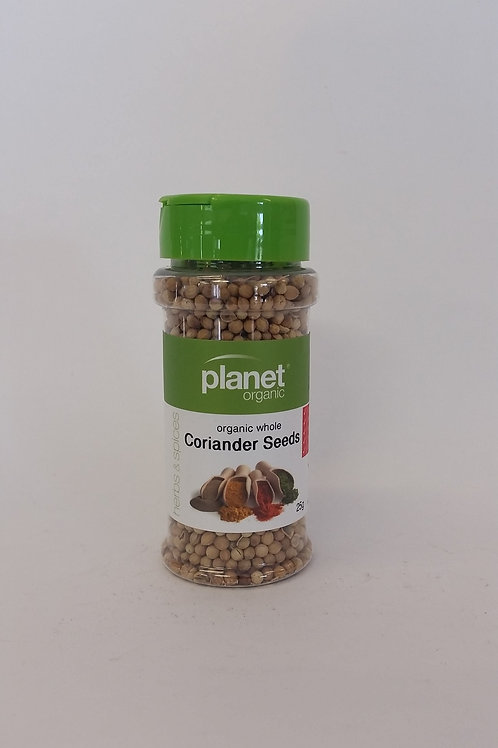 Coriander seed whole 25g