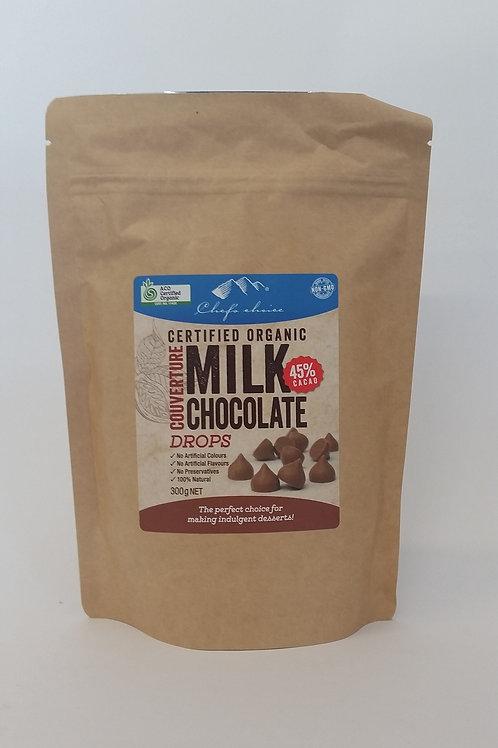 Chocolate drops, milk 300g
