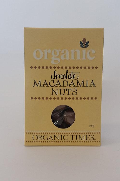 Chocolate, macadamia nuts 150g