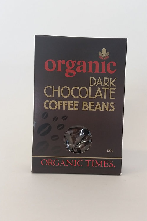 Chocolate, dark coffee beans 150g
