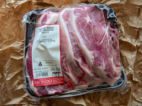 Meat - lamb forequarter chops ~900g