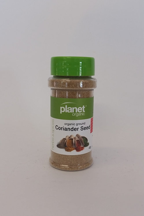 Coriander seed ground 25g