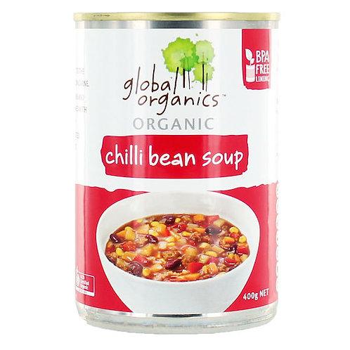 Soup, chilli bean tin 400g