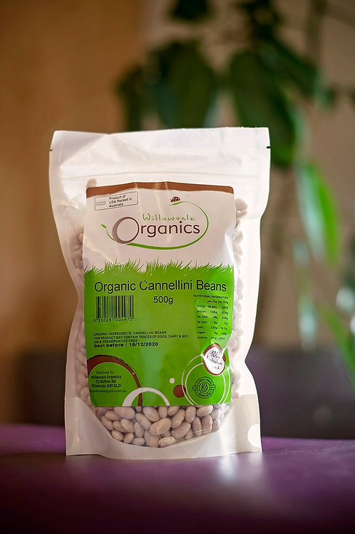 Beans, cannellini dried 500g