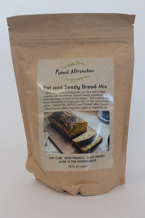 Bread mix, fat and seedy 300g