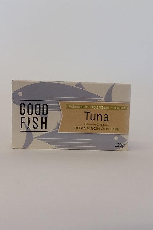 Tuna in olive oil 120g