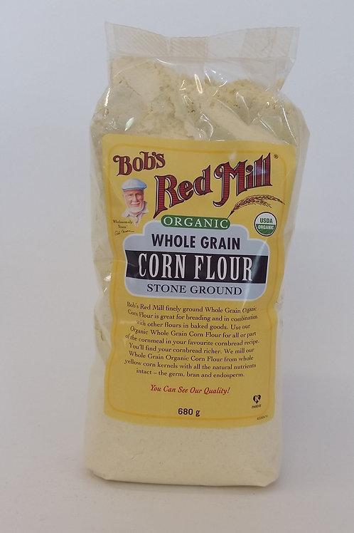 Corn flour, whole grain 600g
