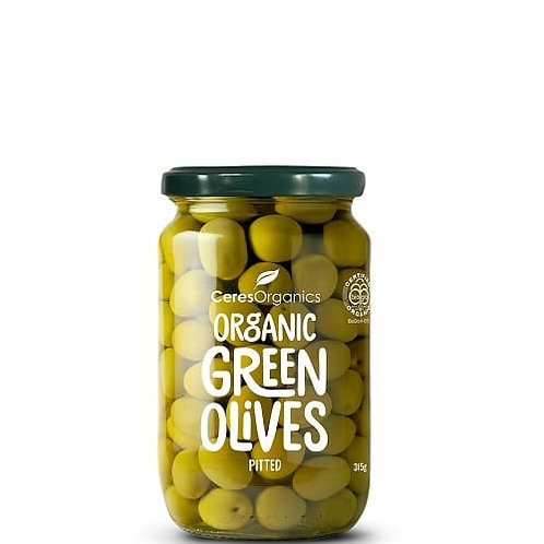 Olives, green pitted 315g