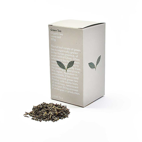 Tea, green loose leaf 100g