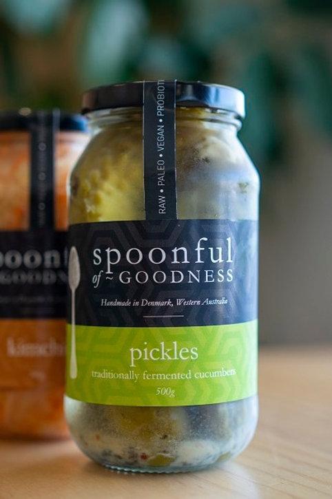 Pickles, fermented cucumber 500g