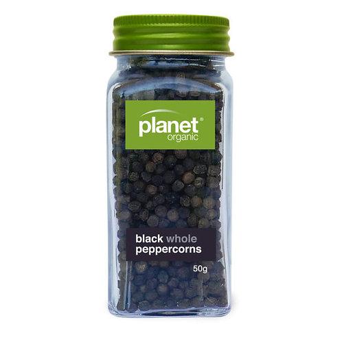 Peppercorns, black 50g