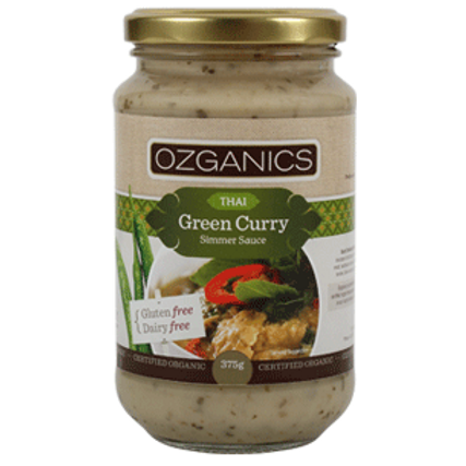 Curry sauce, Thai Green 375g