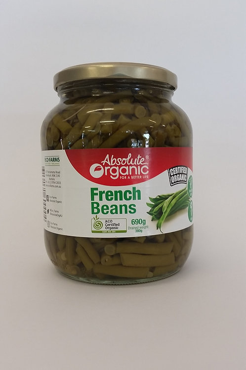 Beans, French