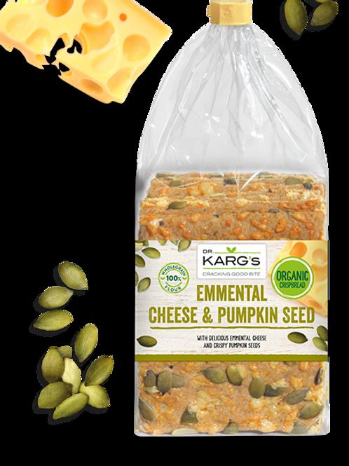 Crispbread, emmental cheese and pumpkin seed 200g