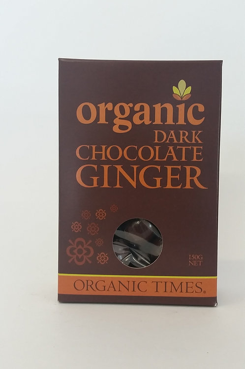 Chocolate, dark ginger 150g