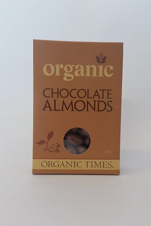 Chocolate coated almonds, 150g