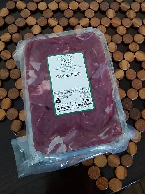 Meat - beef stewing steak ~500g